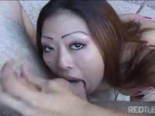 nieuw brunette, mooi orale seks kanaal, ideaal cum shot mov