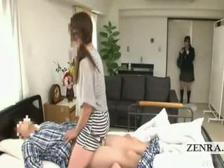 Subtitled japonské školáčka nemocnica milfka prekvapenie