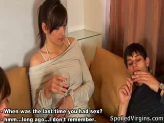 After hot fuck action Masha turned to a real woman.