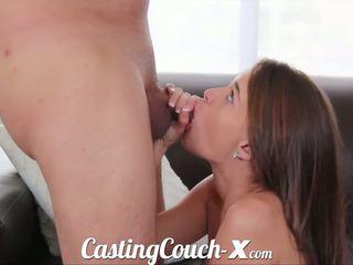 Auditie couch-x georgia peach excited pentru do porno pentru $