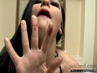 controleren tieten video-, brunette seks, grote borsten