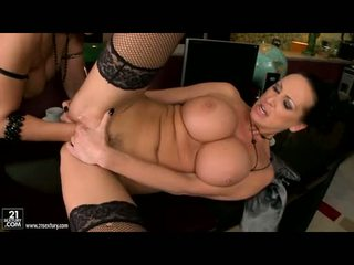 Lusty Maria Bellucci Enjoys Her Fist In Her Friend's Slippery Twat And Can't Live Without It