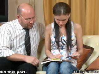 Tricky คุณครู seducing นักเรียน