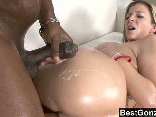 Busty Cougar Hunts A Thick Black Dick