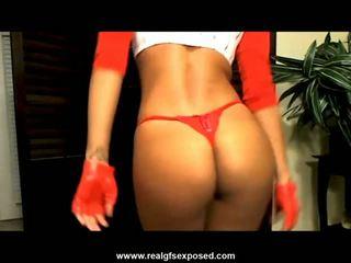 heetste brunette, webcam video-, striptease tube