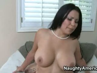 Hawt Boobed Sophia Lomeli Receives Her Pussy Plowed Hard She Couldn't Stop Moaning