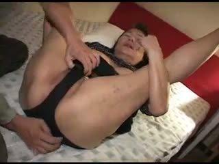 fucking, japanese, granny