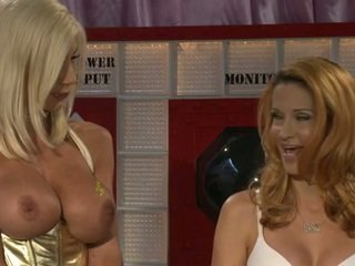 Jessica Drake And Puma Swede In Hot Gold Suit
