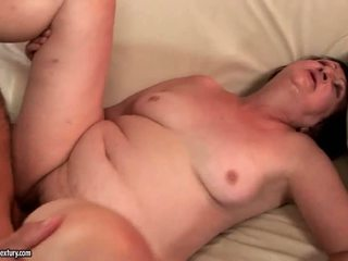Granny Sex Compilation with long dick drilling