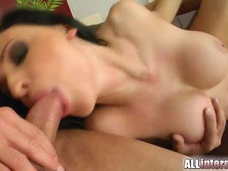 Alien's Pussy Hosts Two Large Cum Loads Inside