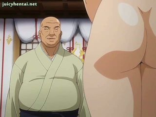 Anime mieze gets double gebohrt