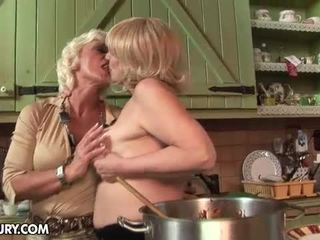 Orchidea And Sally Like To Shop And Cook Together. And Once.