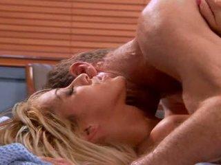 Sexy seductive blond hausfrau video