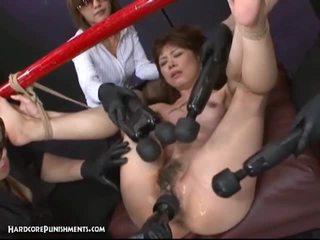 Japonez robie sex cu hary pasarica asiatic curva și filthy jucarii