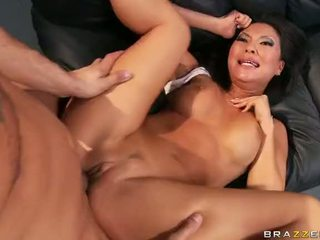 Asiatic pornstar asa akira gets o double penetration video