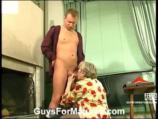 hardcore sex, blow job, hard fuck, old