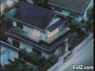 Miyuki longs kohteeseen olla caressed mukaan hänen veli