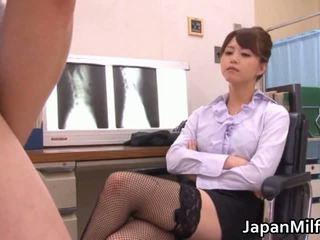 japanse, oosters, dokter, uniform