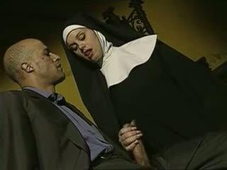 sexy, nepříjemný, italština, nuns