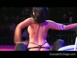 tieten, meloenen porno, dans klem