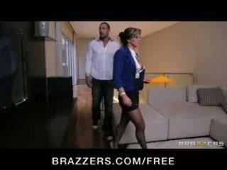 Esperanza gomez - seksualu ispaniškas tikras estate agent fucks jos klientas į padaryti a pardavimas