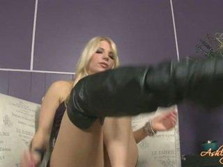 voet fetish actie, pornosterren scène, kijken footfetish