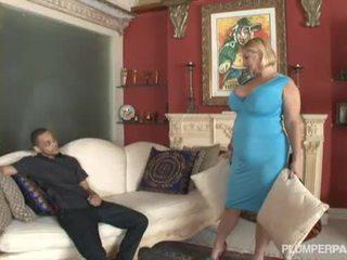 Samantha 38g ו - angelina castro double צוות גבר