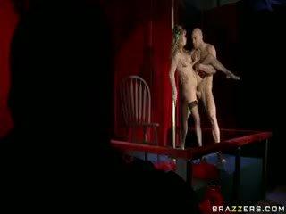 controleren pijpbeurt scène, blond porno, hardcore
