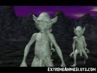 3d aliens na a princezna!