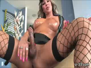 brunette, online bigtits porno, shemale