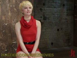 Captive Blonde Gets Punished