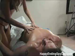 Our Hidden Spy Cameras Caught Jamie The Massage Therapist