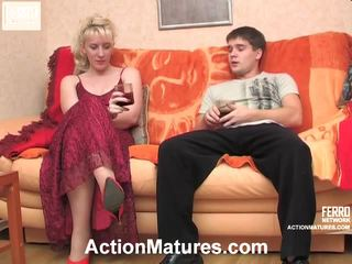 Silvia y maximilian desagradable madura acción