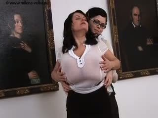 Massive Tits at the Museum Video