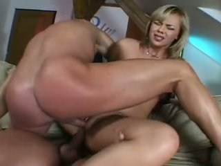 Slutty Dick Fucker Ellen Saint Acquires A Double Meat Slamming In Her Tight Holes