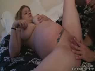 Pregnant Cassie fuck at 9th