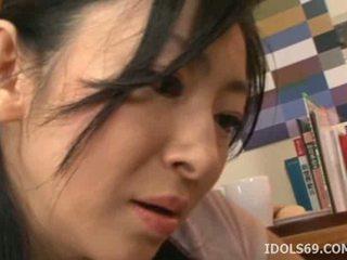 japonski, hq ustni lepo, idealna blowjob glejte