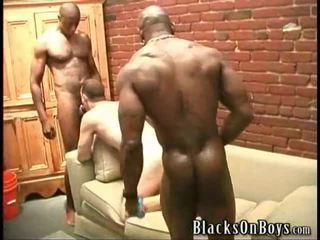 groupsex scene, hq muscle fucking, interracial film