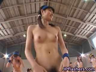 Amateur Japanese Teenies Bare Playing