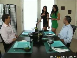 brunettes nice, new foursome, see hot hot