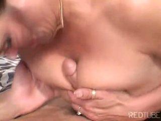 nominale brunette, orale seks, vaginale sex scène