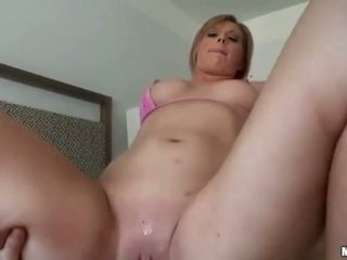 Sexy gf Jessica Heart first time anal