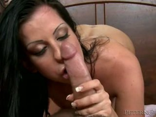 Larissa Dee Sit And Pin Down Her Pussy On Huge Dick