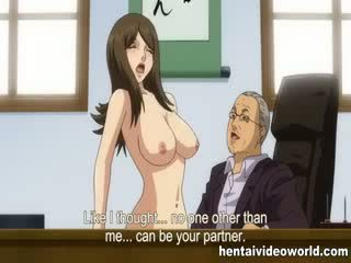 Extreme cartoon sex in the office