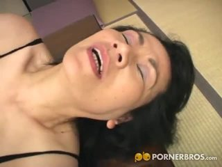 Porner Premium: Mature asian cunt gets toyed with a vibrator