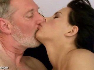 brunette film, mooi hardcore sex film, kwaliteit orale seks