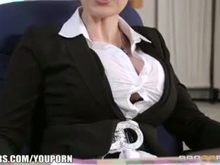 Brazzers - Hot office threesome