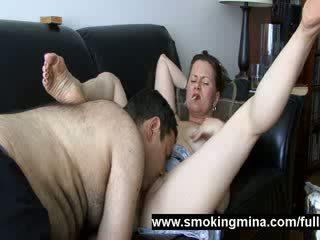 ideaal porno, u roken scène, groot buis kanaal