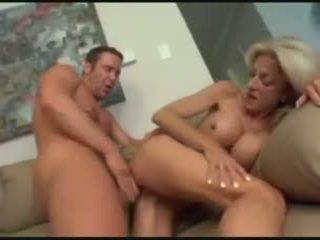 Hos hot horny mom with busty tits