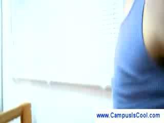college film, meest college meisje, student kanaal